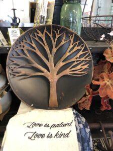 Tree Wall Sculpture Art