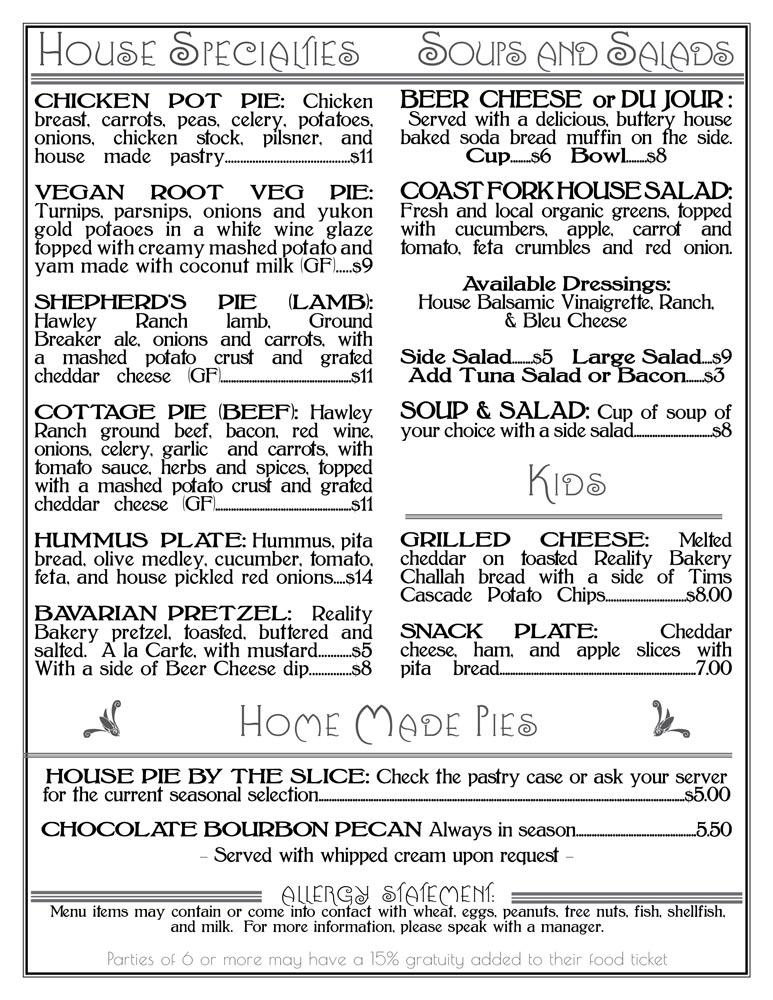 Brewstation Food Menu Summer 2021 - Page 2
