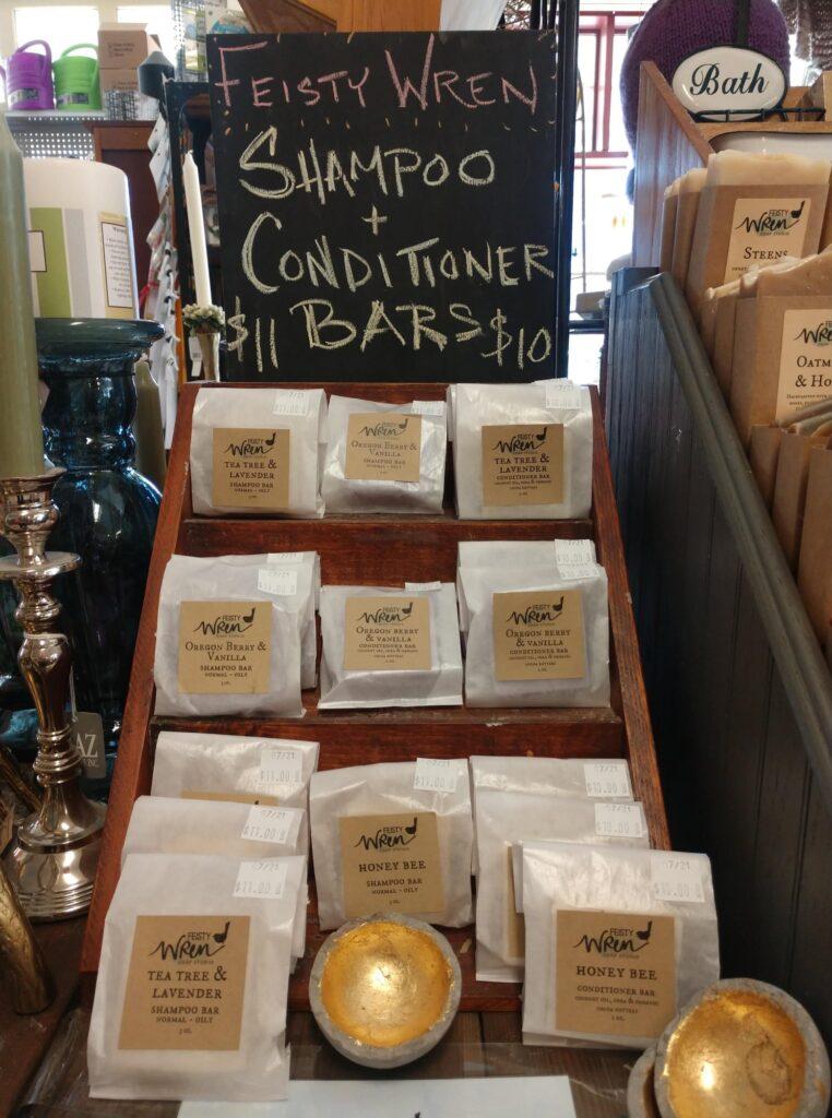 Feisty Wren Shampoo & Conditioner Bars