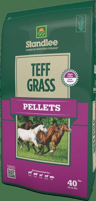 teff grass pellets